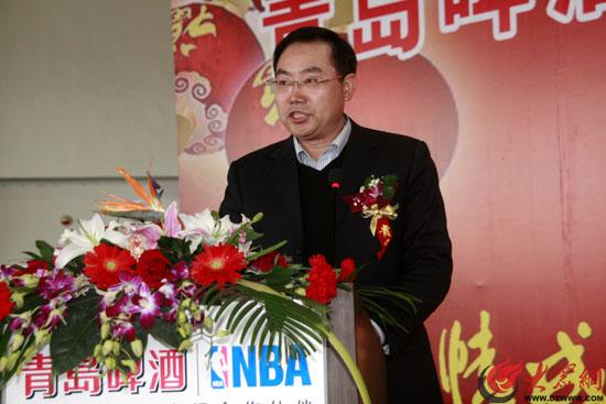 济南高新区管委会副主任吕建涛致词